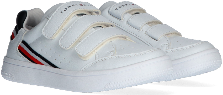 Witte TOMMY HILFIGER Lage sneakers 31084  - larger