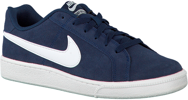 Blauwe NIKE Sneakers COURT ROYALE SUEDE MEN  - large