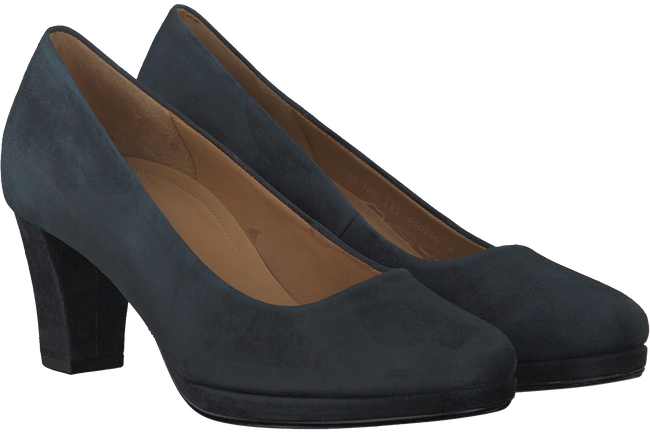 Blauwe GABOR Pumps 190  - large