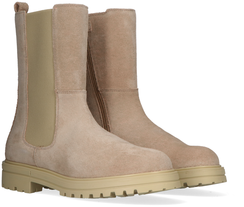 Beige HIP Chelsea boots H1468  - larger