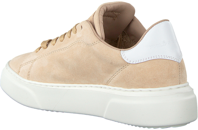 Beige PHILIPPE MODEL Sneakers TEMPLE FEMME  - large