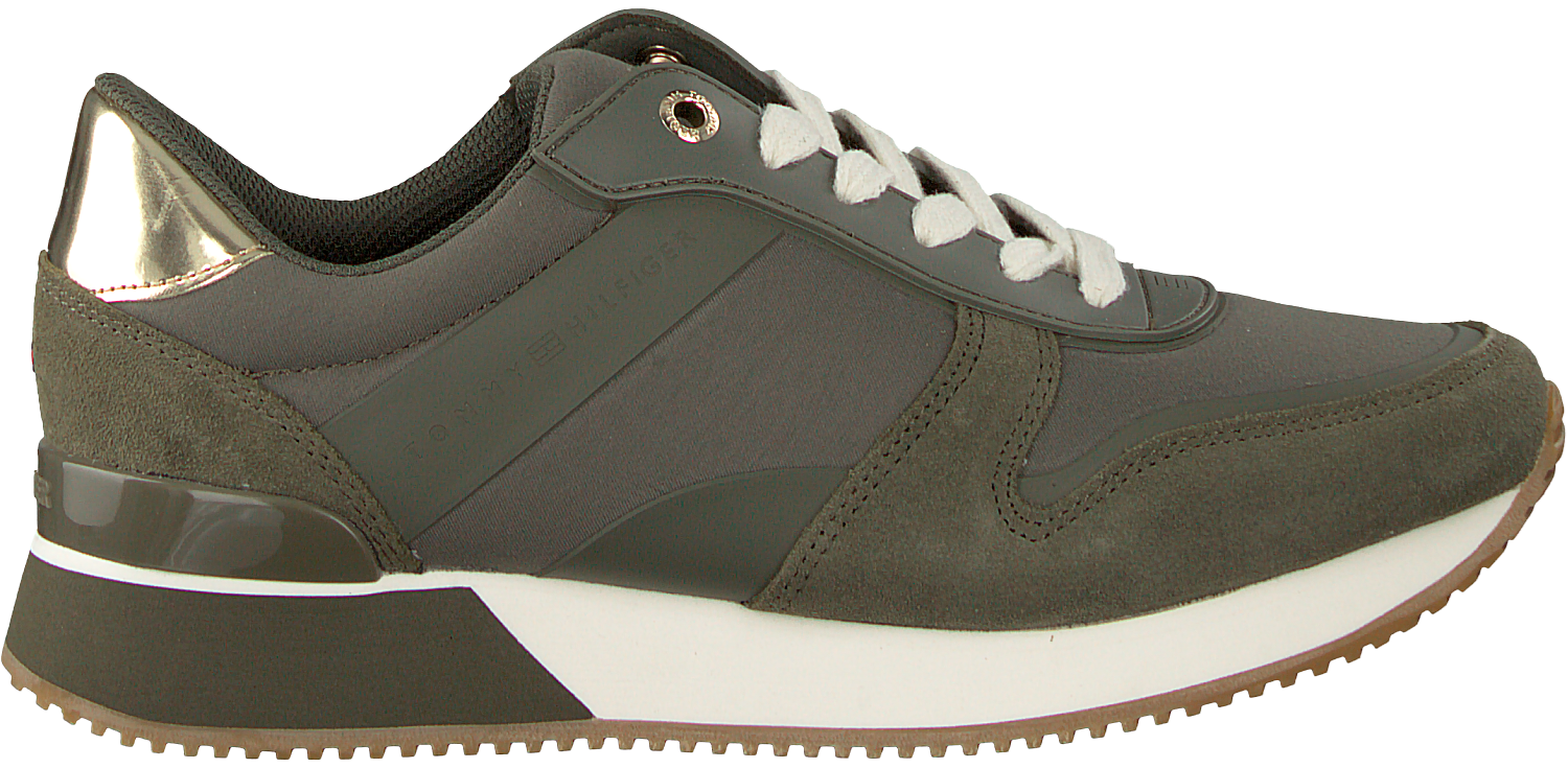894a0dadef170c Groene TOMMY HILFIGER Sneakers MIXED MATERIAL LIFESTYLE - large. Next