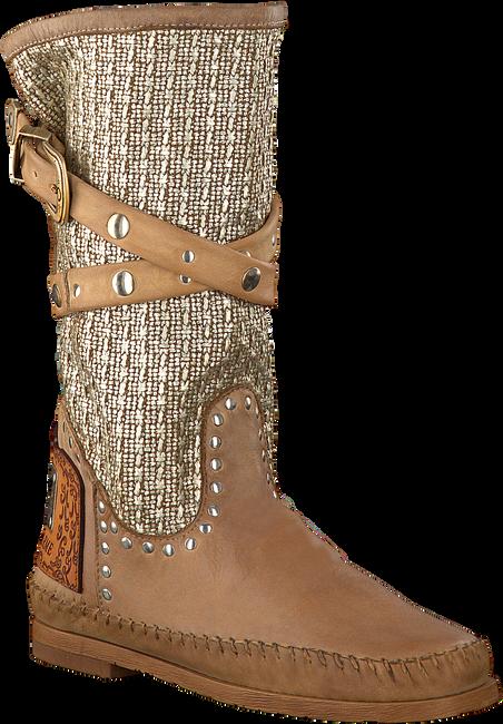 Bruine KARMA OF CHARME Lange laarzen TRICOT 2  - large