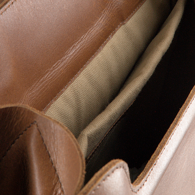 Bruine MYOMY Rugtas MY HOME BAG BACKBAG  - large