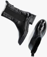 Zwarte OMODA Enkellaarsjes P22203  - medium