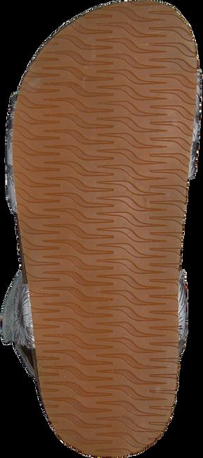 Zilveren CLIC! Sandalen GRASS  - large