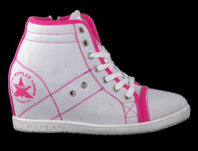 Witte REPLAY Sneakers REGENT  - large