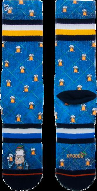 Blauwe XPOOOS Sokken PINT LUKE  - large