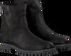 Zwarte GIGA Enkellaarsjes G3291  - small