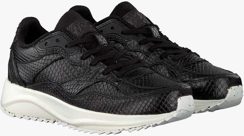 Zwarte WODEN Sneakers SOPHIE SNAKE  - larger
