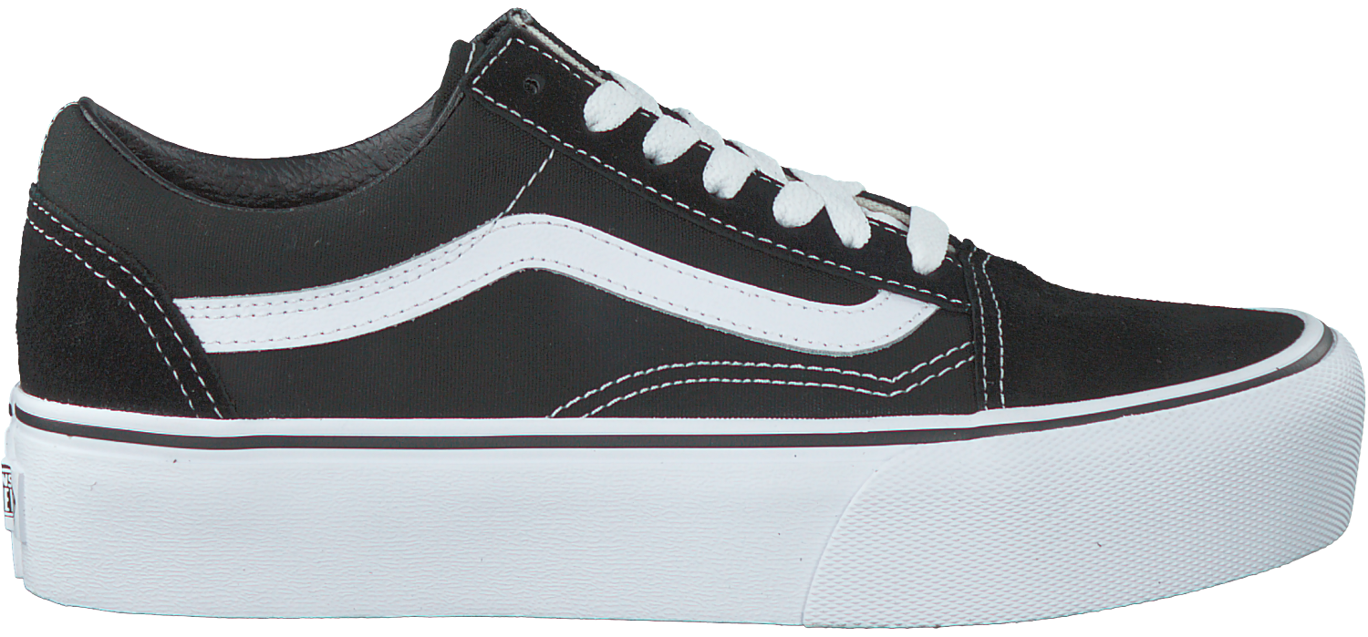 2a6179b23e8e42 Zwarte VANS Sneakers OLD SKOOL PLATFORM - large. Next