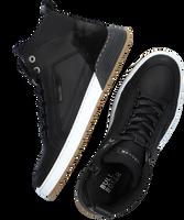 Zwarte BULLBOXER Hoge sneaker AOF500  - medium