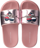 Roze TOMMY HILFIGER Badslippers HEART PPINT POOL SLIDE  - small