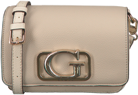 Beige GUESS Schoudertas ANNARITA MINI CROSSBODY FLAP  - medium