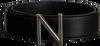 Zwarte NIKKIE Riem N-9-577-1805 N LOGO HIP  BELT - small