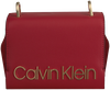 Rode CALVIN KLEIN Schoudertas CK CANDY SMALL CROSSBODY - small