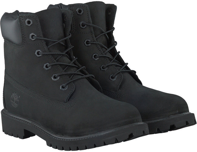 Zwarte TIMBERLAND Enkelboots 6IN PRM WP BOOT KIDS  - large