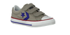 Taupe CONVERSE Sneakers STAR PLAYER OX KIDS  - small