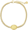 Gouden MY JEWELLERY Armband ARMBAND BEDEL OVAAL ROOS - small