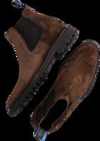 Cognac FLORIS VAN BOMMEL Chelsea boots 20072  - medium