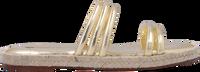 Gouden FRED DE LA BRETONIERE Slippers 154010004 - medium
