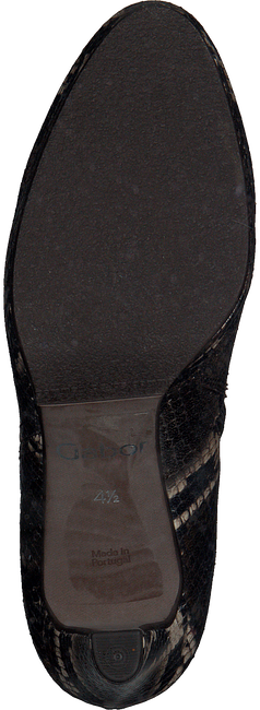 Bruine GABOR Enkellaarsjes 860  - large