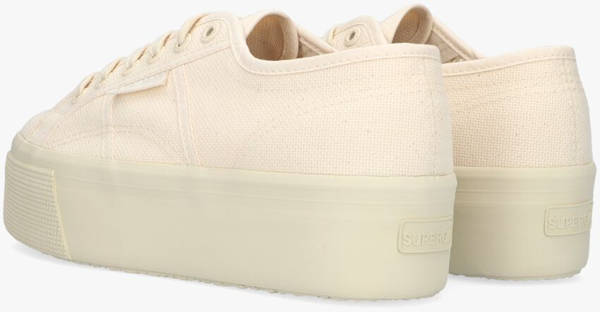 Beige SUPERGA Lage sneakers 2790 COTW LINE UP AND DOWN  - larger