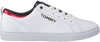 Witte TOMMY HILFIGER Sneakers CITY SNEAKER METALLIC - small