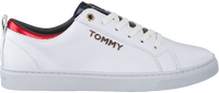 Witte TOMMY HILFIGER Sneakers CITY SNEAKER METALLIC - medium