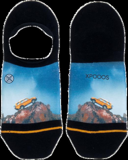 Blauwe XPOOOS Sokken DOING INVISIBLE  - large