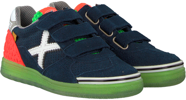Blauwe MUNICH Sneakers G-3 VELCRO - large