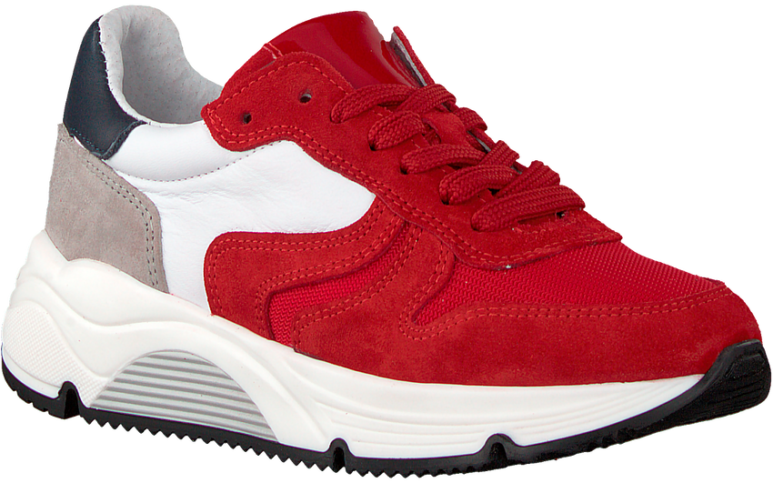 Rode HIP Lage sneakers H1343  - larger