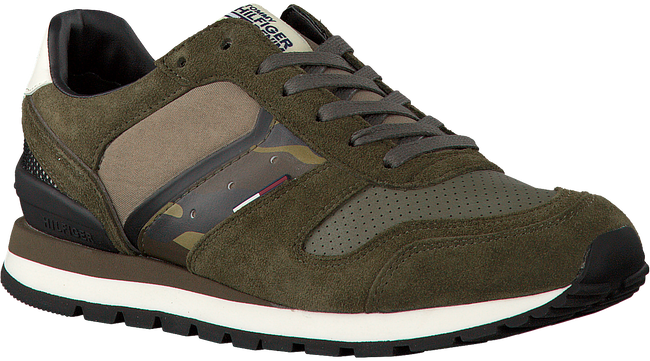 Groene TOMMY HILFIGER Sneakers BARON 1C1  - large
