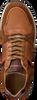 Cognac MAZZELTOV Lage sneakers 20-9423E  - small