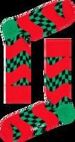 Rode HAPPY SOCKS Sokken RACE SOCK  - medium