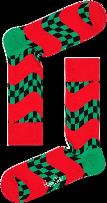 Rode HAPPY SOCKS Sokken RACE SOCK  - large