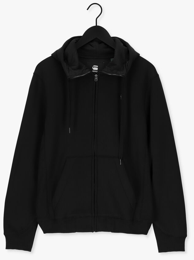 Zwarte G-STAR RAW Sweater C235 - PACIOR SWEAT R HOODIE  - larger