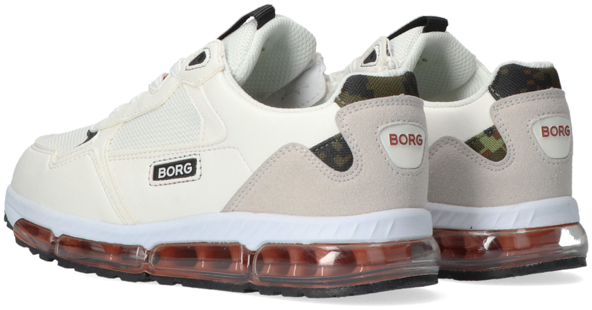 Witte BJORN BORG Lage sneakers X500 DCA K  - larger