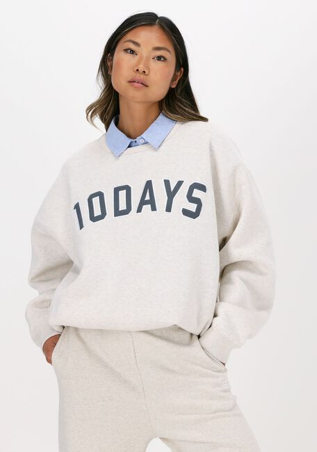 Gebroken wit 10 DAYS Sweater STATEMENT SWEATER - large