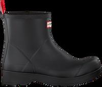 Zwarte HUNTER Regenlaarzen MENS ORIGINAL PLAY BOOT SHORT  - medium
