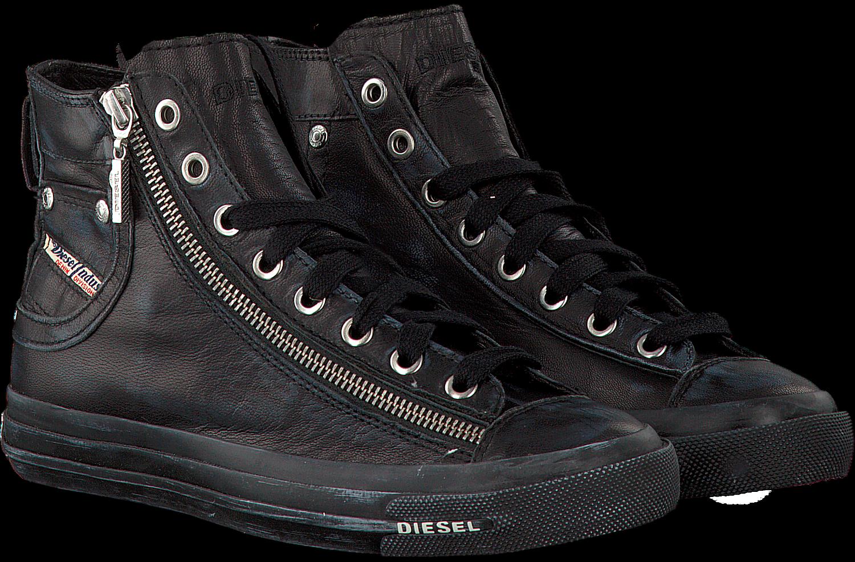 Chaussures De Sport Diesel Zwarte Magnets Exposition Wmn TRlhsV