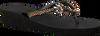 Zwarte UZURII Slippers GOLD FLY MH - small