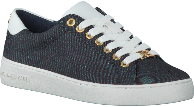 Blauwe MICHAEL KORS Sneakers IRVING LACE UP - large