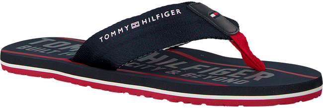 Blauwe TOMMY HILFIGER Slippers SMART TH BEACH SANDAL - large