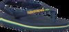 Blauwe HAVAIANAS Slippers BABY BRASIL LOGO  - small