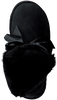 Zwarte UGG Vachtlaarzen GITA BOW MINI - small