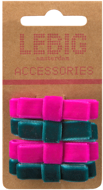 Roze LE BIG Haarband PHILICIA HAIRCLIPS  - large