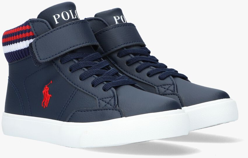 Blauwe POLO RALPH LAUREN Hoge sneaker THERON BOOT  - larger