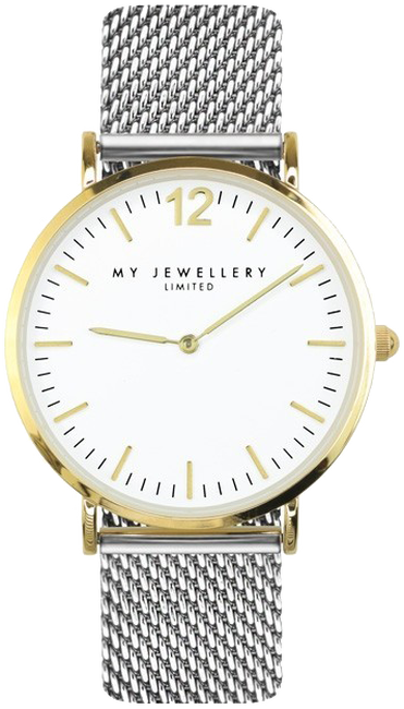MY JEWELLERY HORLOGE BICOLOR WATCH LIMITED - large