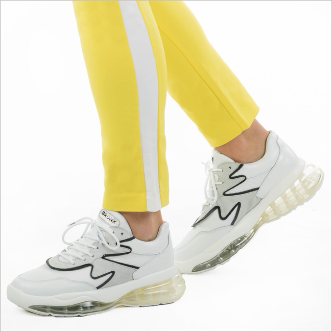 Witte BRONX Sneakers BUBBLY - large